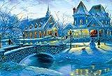 Puzzles De Madera Puzzles 3D Winter Snow Jigsaw Puzzle 1000 Piezas Entretenimiento Para Adultos Montaje De Juguetes Paisaje De Madera Puzzle Niños Caja De Regalo Embalaje