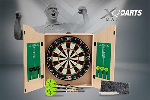 XQ Max Darts Unisex Michael Van Gerwen Home Dart Center, weiß