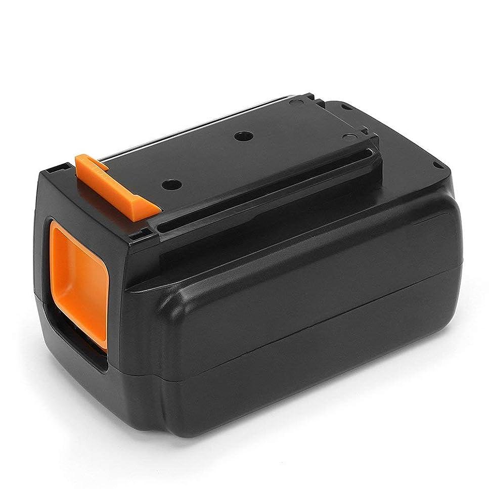バクテリア上陸アルコーブ【POWERGIANT】ブラックアンドデッカー(BLACK+DECKER) リチウムイオンバッテリーBL2036 36V 2.0Ah 互換バッテリー 電動工具用 長期保証