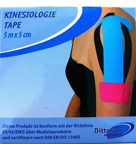 Dittmann Kinesiologie-Tapes 5m x 5cm Klebeband...