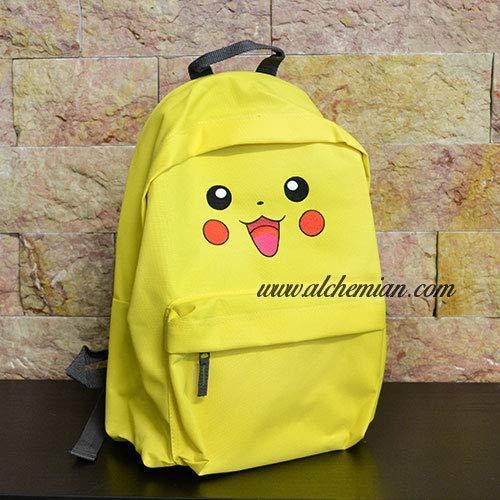 Pikachu, bestickter gelber Rucksack, Pokemon Pokémon