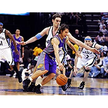 "Dunk STEVE NASH NBA Poster 24/"" X 36/"" NEW 6"