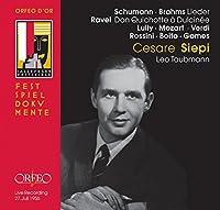 Schumann, Brahms: Lieder; Ravel: Don Quichotte a Dulcinee by Cesare Siepi