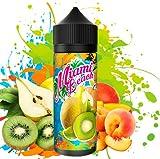 E-Liquid MIAMI BEACH | 120ML TPD | ElecVap | Sin Nicotina: 0MG | E-Liquido vapeo para Cigarrillos Electronicos - E Liquidos para Vaper 70/30