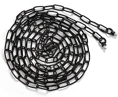 Eumyviv 19ft Heavy Duty Chain for Light Fixture Pendant Light Extra Chain Permits Installation product image