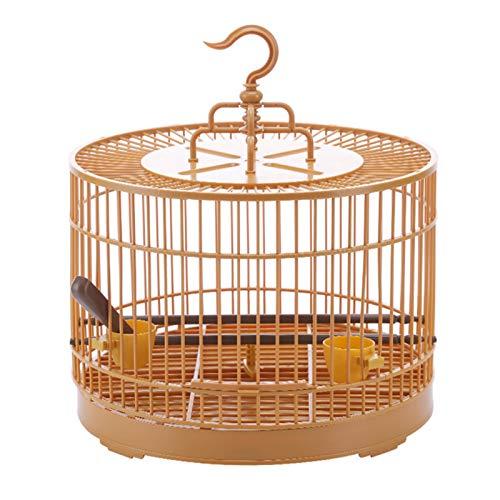 Oddity Mini-Vogelkäfig Retro-Stil Tragbare Runde Atmungsaktiv Faltbare Anti-Drop-Vogelfutter-Dispenser Bird Carrier Für Die Reise Astounding