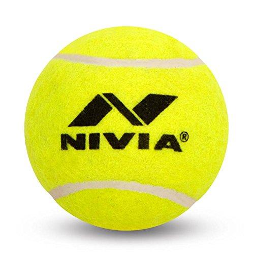 Nivia Tennis Ball H/W Yellow (Pack of 3)