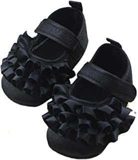 DZT1968 Baby Girl Soft Sole Princess Mary Jane Shoes Prewalker
