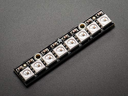 NeoPixel Stick - 8 x WS2812 5050 RGB LED con controladores integrados