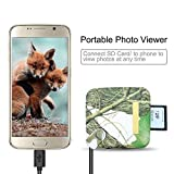 Bestok Trail Camera Memory Card Reader for Android Smartphone Tablets Micro-USB OTG Smart Phone to View Deer Hunting Game Cam Photo & Video No App Needed Connection