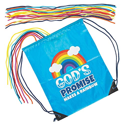 Fun Express God's Promise Makes A Rainbow Game - Toys - 22 Pieces