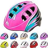 Casco Bicicleta Casco Biciclea Casco Bici Casco de Bicicleta para niños y jóvenes Casco MTB Carretera Ciclismo Skate Bicicleta patineta Patines monopatines MA-2 (S(48-52cm), Orbit Pink)