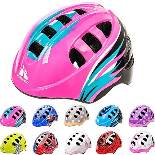 meteor Casco Bici ideale per bambini e adolescenti Caschi perfetto per Downhill Enduro Ciclismo MTB Scooter Helmet Ideale per Tutte Le Forme di attività in Bicicletta