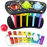ToyerBee Musical Instruments Toys Set for Kids,...