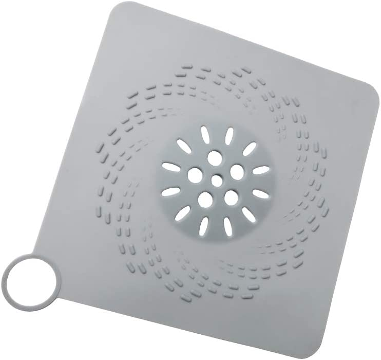 Hair Catcher Shower Drain Flat 7.48-inch Square Durable S Large Max 51% OFF Wholesale