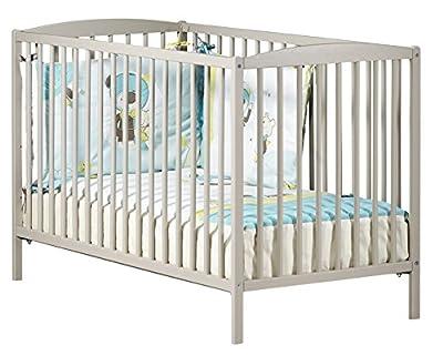 Baby Price - Cuna New Basic, 3posiciones, 120x 60cm, color blanco