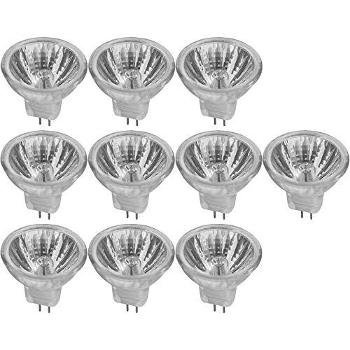 10 x Halogen Leuchtmittel MR11 Reflektor 35W GU4 990cd warmweiß dimmbar flood 30°