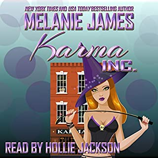 Karma Inc. audiobook cover art