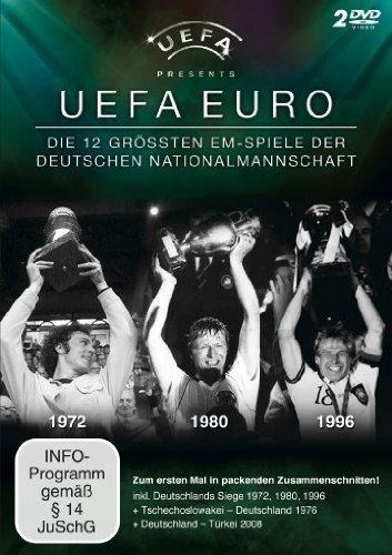 UEFA Euro - Die 12 größten EM-Spiele der Deutschen Nationalmannschaft [2 DVDs]