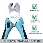 DakPets Ciseaux pour Griffes | De qualité Professionnelle au Salon des Animaux, pour l'entretien des Griffes pour Les Petits, Moyens et Grands Chiens, Chats et Lapins #1
