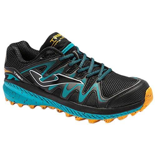Joma Trek, Zapatillas para Carreras de montaña Hombre, Negro, 45 EU