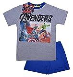 Marvel Oficial Pijama de los Vengadores Edad de Ultron | Iron Man Hulk Thor Capitán América Pijama | Imagen Principal para ilustrar Multicolor Design 3 10 años