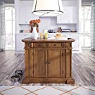 Americana Oak Kitchen Island by Home Styles #3