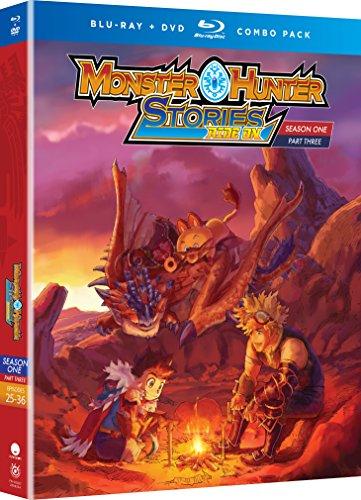 Monster Hunter Stories Ride On: Ssn One Part Three [Edizione: Stati Uniti] [Italia] [Blu-ray]