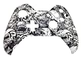 E-MODS GAMING® WHITE ZOMBIE Pattern Hydro Dipped Front Shell Cover Mod for Xbox One Controller