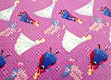 Frozen by Disney'Sisters Forever' Fabric by The Yard