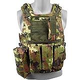 R O Y A L Body Armor Light Gilet TATTICO Softair FSBE CIRAS VEGETATO (RP-81TC)...