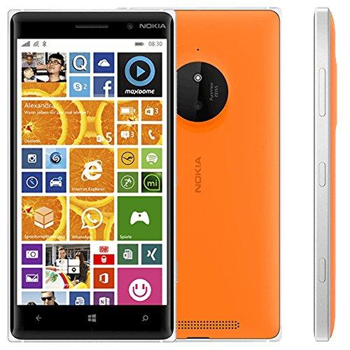 Nokia Lumia 830 Smartphone (5 Zoll (12,7 cm) Touch-Display, 16 GB Speicher, Windows 8.1) orange