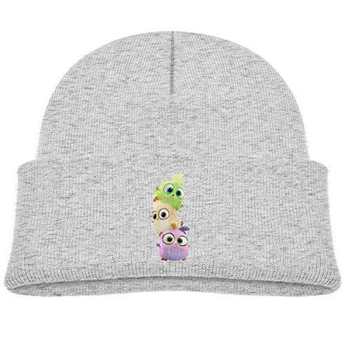Bonnet tricoté NR Three Funny 3D Poules pour bébé garçon fille