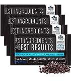 Barry Callebaut Semi Sweet Mini Chocolate Chips | All Natural | Certified Kosher | Gluten-Free, Dairy-Free, Nut-Free | Vegan | 9 oz bag (Semi Sweet Mini Chocolate Chips, 4 Packs)