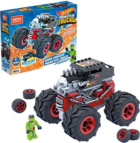 Mega Construx Hot Wheels Bone Shaker Monster Truck (Mattel GVM27)
