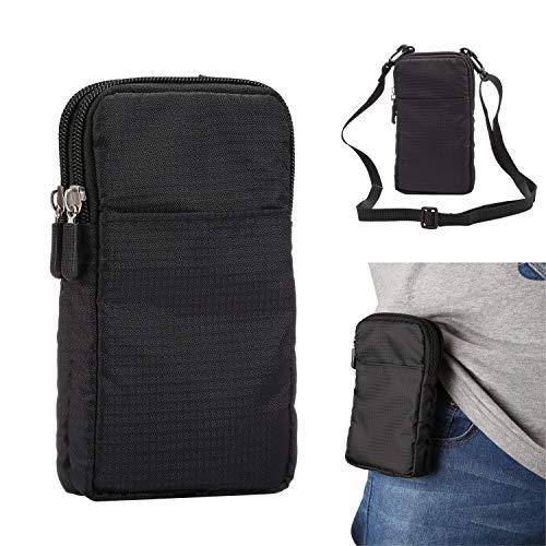 Riñonera deportiva para correr, pequeñas bolsas cruzadas para hombres y mujeres, 15,9 cm, bolsa para cartera, bolsa de hombro