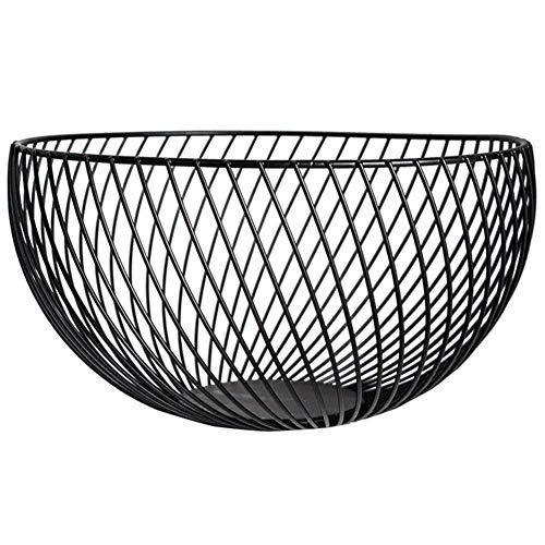 HFDY Estilo moderno de acero inoxidable cromado Fruta Veg Basket Bowl Fruit...