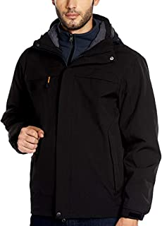 HOOUDO Jacket for Men,Autumn Winter Sale Casual Plus Size Outdoor Lightweight Breathable Sport Windbreaker Parka Coat Outw...