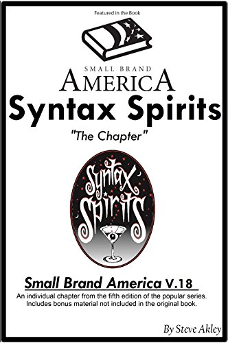Small Brand America V.18: Syntax Spirits Chapter: Includes Bonus Material Not in the Original Book (English Edition)