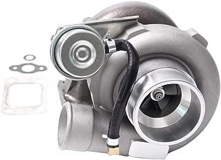 GT2871 GT2860 GT25 GT28 Turbo Fit for Nissan SR20 SR20DET 180SX.64 A/R 400BHP+ 5-Bolt Water & Oil Cooled for 1.8L-3.0L Engine &Gaskets