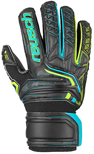 Reusch Attrakt SD Open Cuff Finger Support Junior Goalkeeper Glove - Size 4