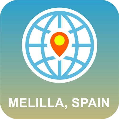 Melilla, España Mapa