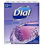 Dial Lavender And Twilight Jasmine Bar Soap, 12 Count