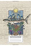 Notebook: Minoan Fresco Great White Guardian , Journal for Writing, Size 6