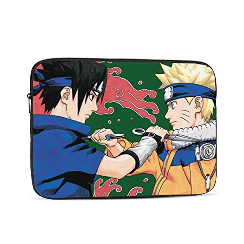 N-aruto Anime Laptop case 13inch, Laptop Cover Shockproof Slim Briefcase Laptop Sleeve, Protective Laptop Carrying case for Business Travel School