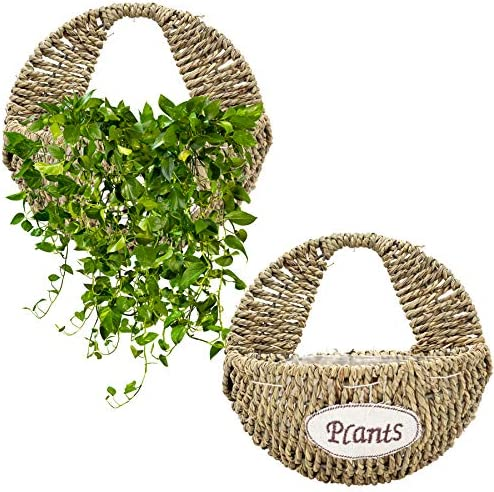Wall baskets for flowers