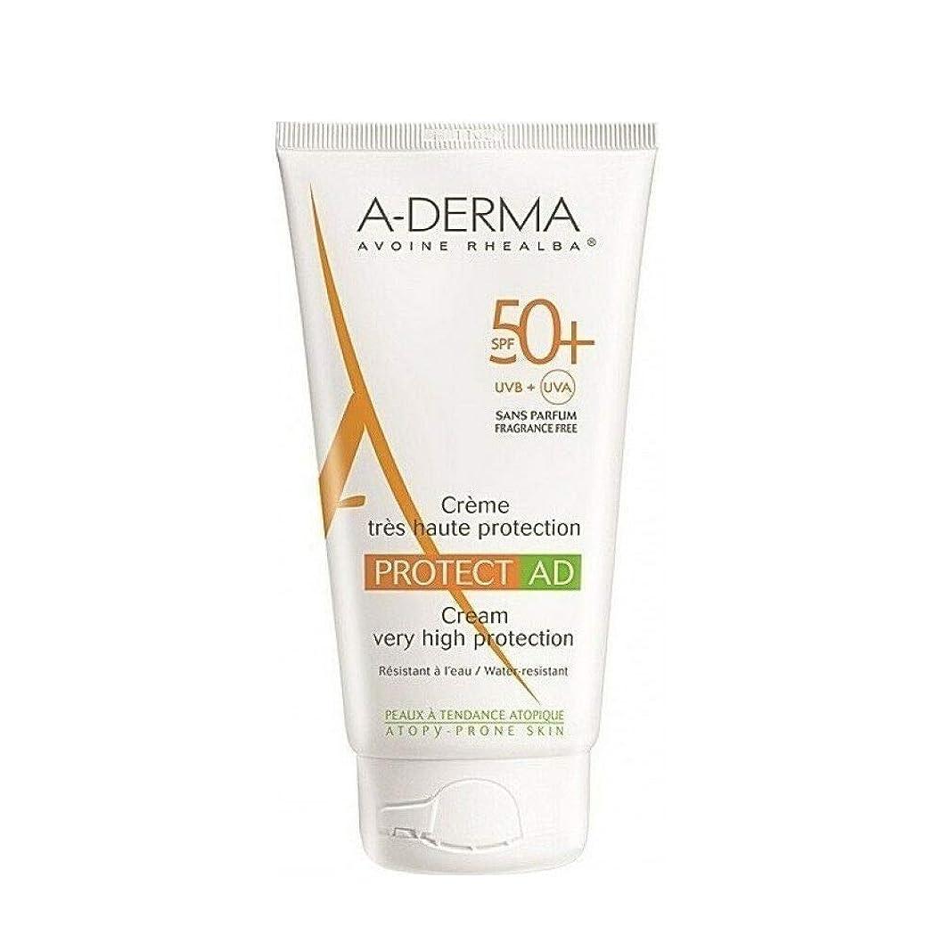 構成するの頭の上抗議A-DERMA Protect AD sun cream サンクリーム (150ml) SPF50+/PA+++ フランス日焼け止め