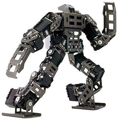 ROBOTIS GP (Grand-Prix) High Performance Motorized Humanoid Competition Robot, DIY STEM Programmable & Configurable Science Experiment for All, Versatile Robot Engineering & Development (901-0026-310)
