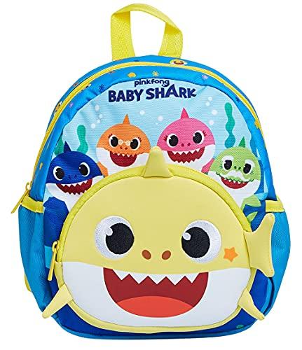 Seven Zaino Asilo 23X28X13 Baby Shark Family Nuova Collezione