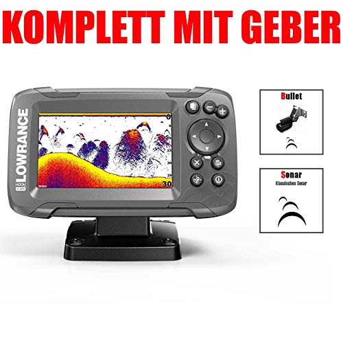 Lowrance Hook2-4x GPS Bullet Geber Echolot Fischfinder
